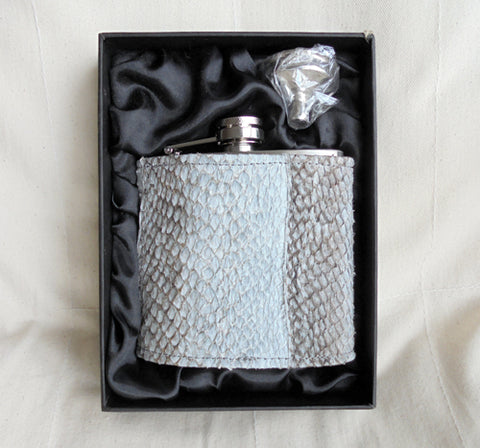 Fishleather Hip Flask
