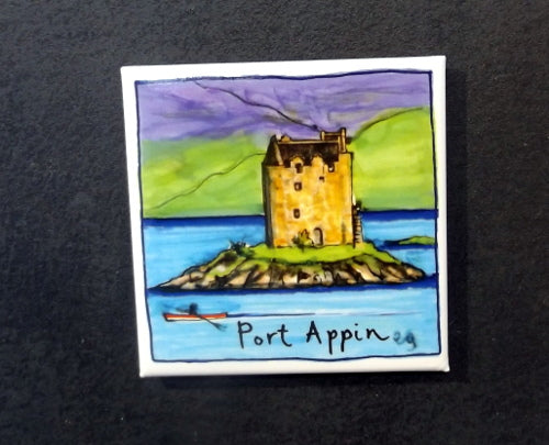 Fridge Magnet - Castle Stalker