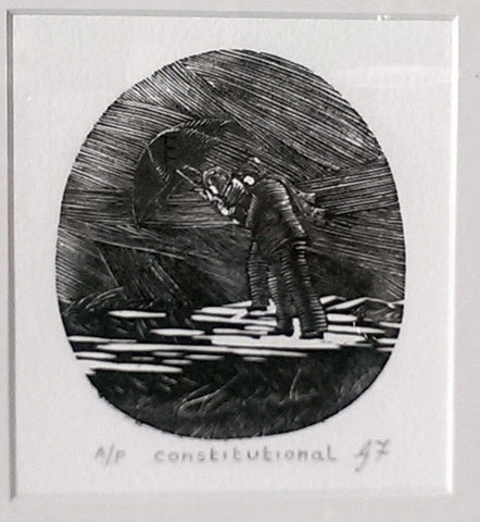 "Etching - ""Constitutional"""