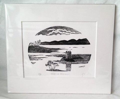 Etching - Castle Stalker