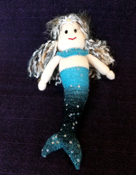 Mermaid - blue & sparkly