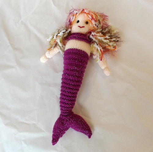 Mermaid - Purple and sparkly