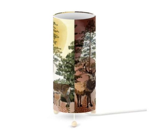 Table Lamp - Woodland Stag