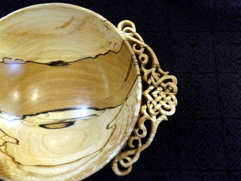 Quaich - Hand Carved