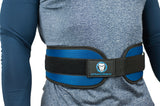 "Urban Lifters Neoprene Weightlifting Belt - 6"" wide back support, quick release Velcro strap and strong steel buckle."