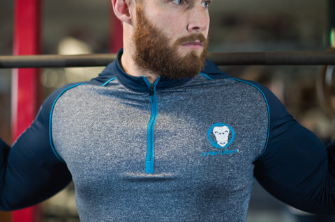 Urban Lifters Athlete Fit 1/4 Zip Long Sleeve Shirt.