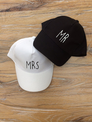 Mr & Mrs Baseball Cap set