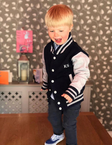 Koko Kiddie Personalised Varsity Jacket