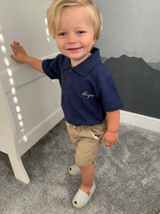 Personalised Kiddie Cooper Polo Shirt