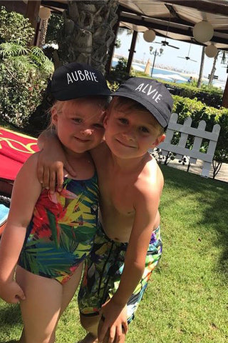 Kids Personalised Cap