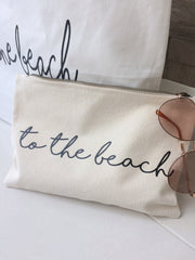 'To The Beach' Make Up/ Travel Bag - Koko Kimono