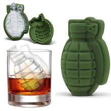 Load image into Gallery viewer, 3D Ice Cube Grenade Shape Mold