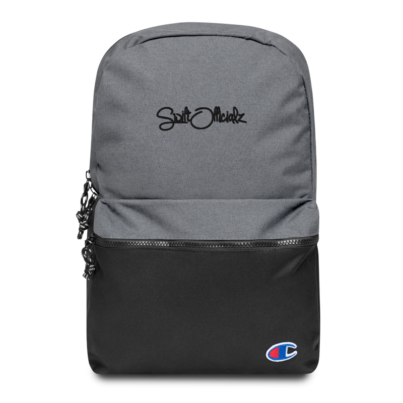 SwiftOfficialz Embroidered Champion Backpack