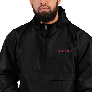 SwiftOfficialz Redz Embroidered Champion Packable Jacket