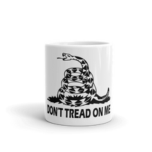 "Load image into Gallery viewer, ""Don't Tread On Me"" Mug"