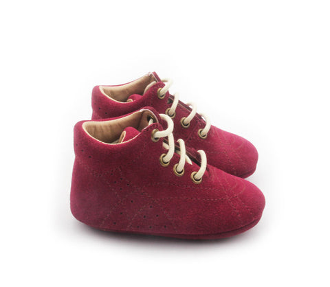 BOBBY- BOOT- BURGUNDY