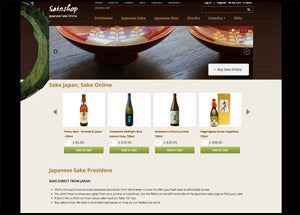 japanese sake website