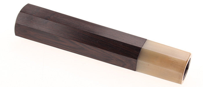 Sakai Ebony Handle - Toffee Buffalo Bolster - 180DB