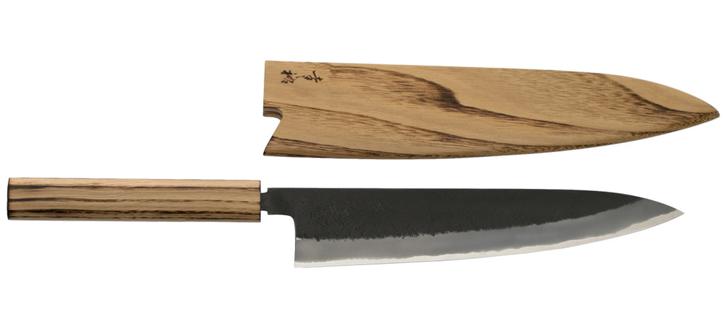 Gyuto Chefs Knife Tagged Quot Stainless Clad Carbon