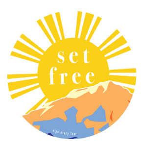 Set Free Sticker