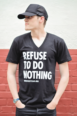 Refuse To Do Nothing V-Neck