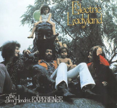 Jimi Hendrix Electric Ladyland Album Cover