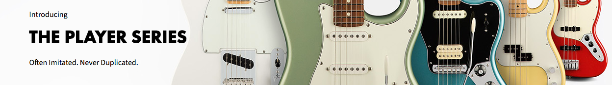 Fender Player Series Guitars at Music Junkie