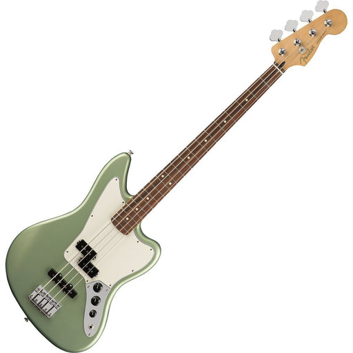 Fender Player Jaguar Bass Sage Green Metallic Pau Ferro - Music Junkie
