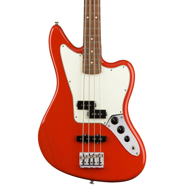 Fender Player Jaguar Bass Sonic Red Pau Ferro - Music Junkie