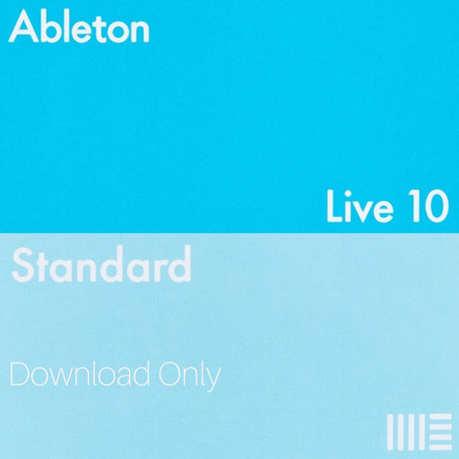 Ableton Live 10 Standard Upgrade from Live 1-9 Std. (Download) - Music Junkie