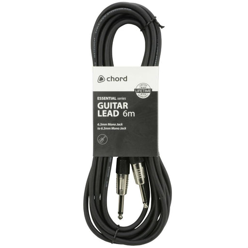 Chord Essential Instrument Cable 20ft - Music Junkie
