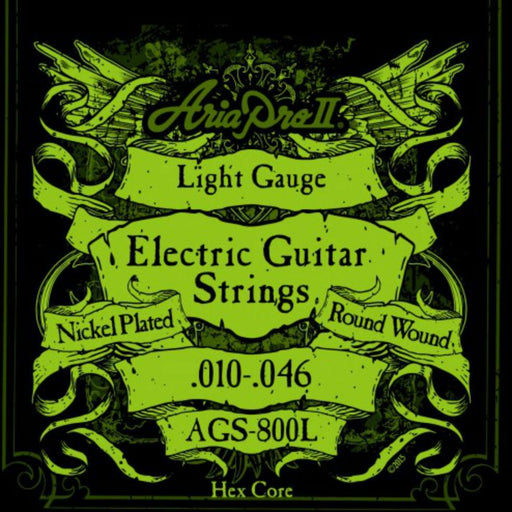 Aria AGS-800L Electric Guitar Strings 10-46