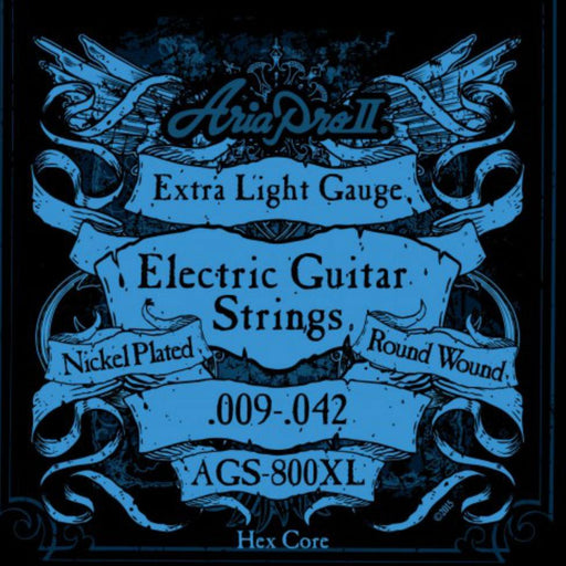Aria AGS-800XL Electric Guitar Strings 9-42