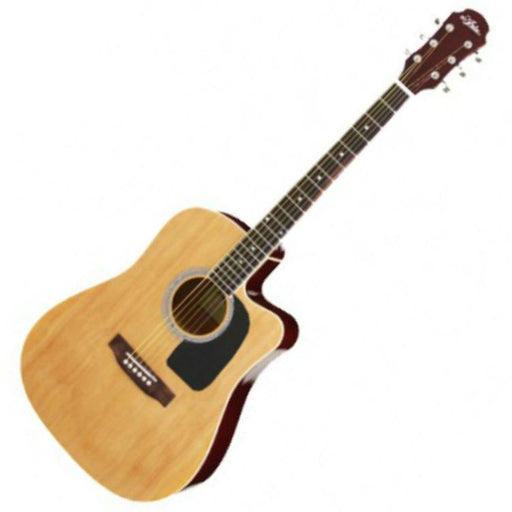 Aria AW-15CE Electro Acoustic Guitar Natural - Music Junkie