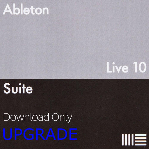 Ableton Live 10 Suite Upgrade from Live 7-9 Suite (Download) - Music Junkie