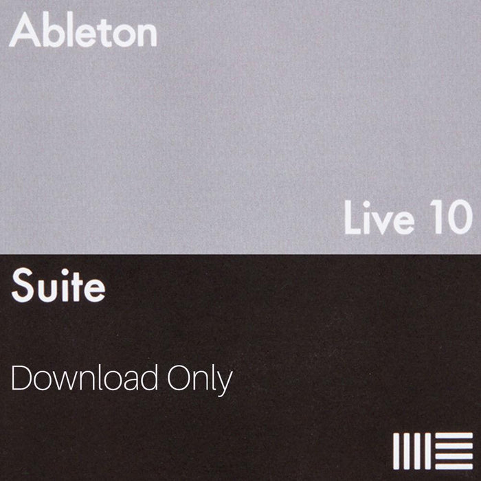 Ableton Live 10 Suite (Download Only) - Music Junkie