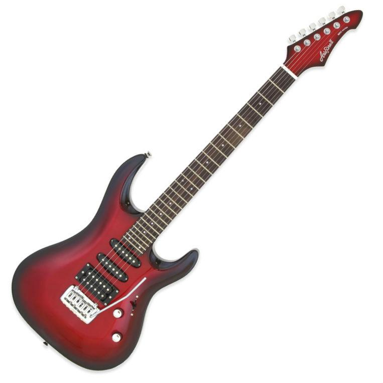 Aria MAC-Standard Electric Guitar Metallic Red Shade - Music Junkie