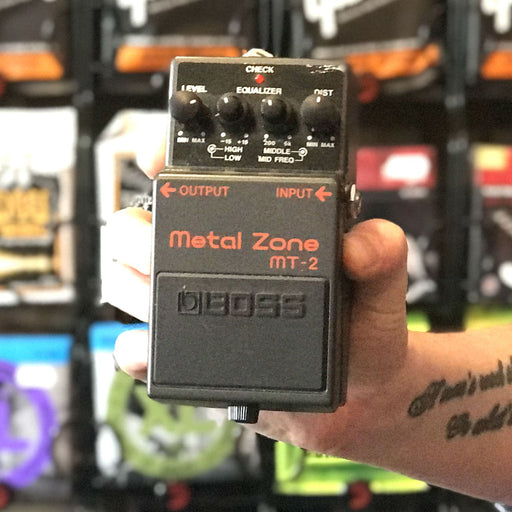 Boss MT-2 Distortion Pedal (Second Hand) - Music Junkie