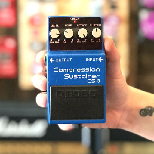 Boss CS-3 Compressor Pedal (Second Hand) - Music Junkie