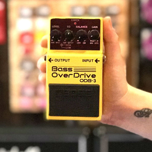 Boss ODB-3 Bass Overdrive Pedal (Second Hand) - Music Junkie