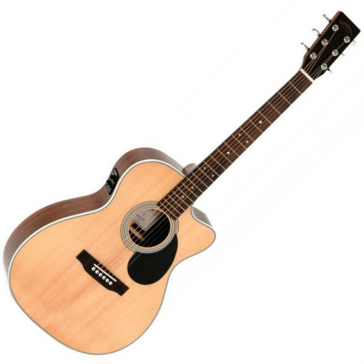 Sigma OMMRC-1STE Electro Acoustic Natural - Music Junkie