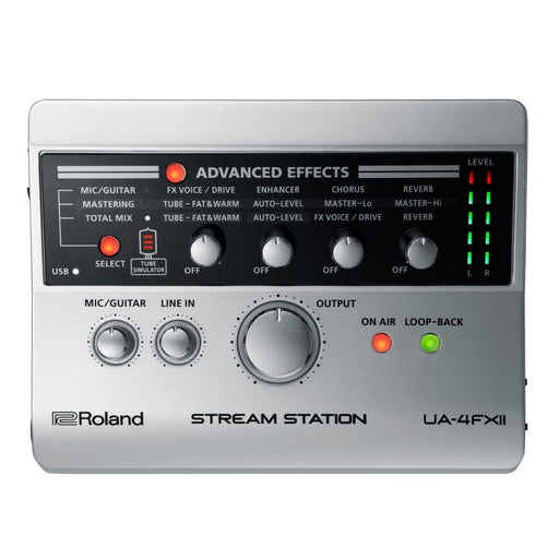 Roland UA-4FX2 Stream Station USB Audio Interface - Music Junkie