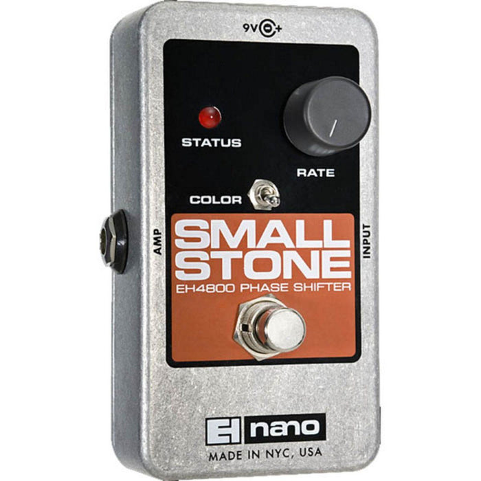 Electro Harmonix Nano Small Stone Phase Shifter Effects Pedal - Music Junkie