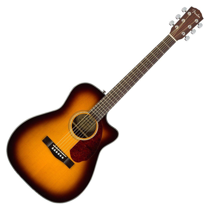 Fender CC-140SCE Electro Acoustic Sunburst with Case - Music Junkie