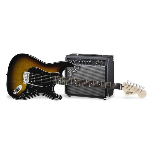 Squier Affinity HSS Strat Pack Brown Sunburst - Music Junkie