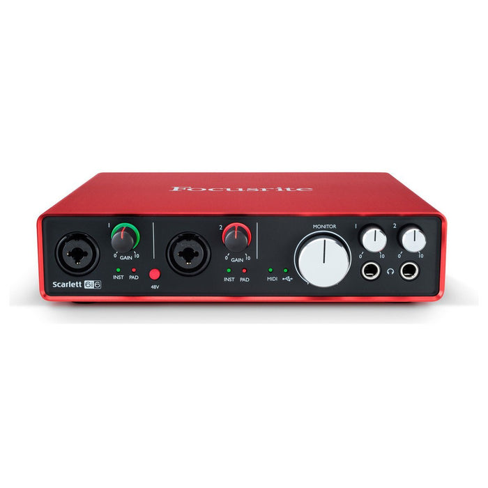 Focusrite Scarlett 6i6 2nd Gen USB Audio interface - Music Junkie