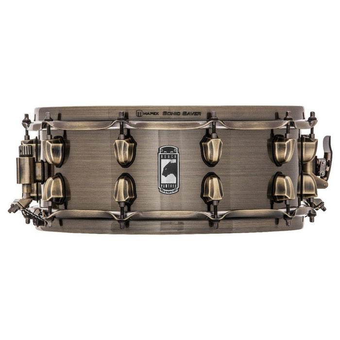 Mapex Black Panther Brass Cat 14x5.5 Snare Drum Brass Shell - Music Junkie