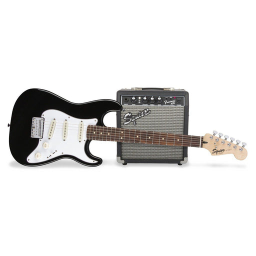 Squier Short Scale Strat Pack Black - Music Junkie
