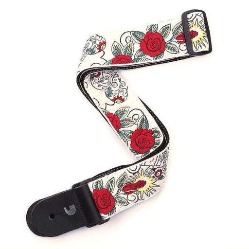 Planet Waves Woven Guitar Strap Dia De Los Muertos - Music Junkie