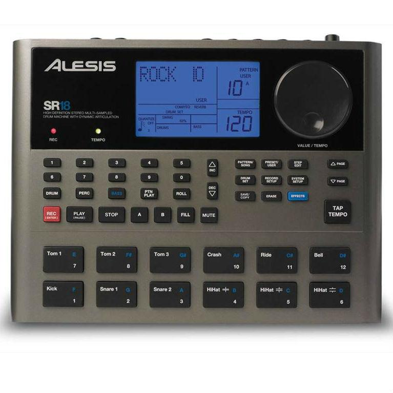 Alesis SR-18 drum machine - Music Junkie